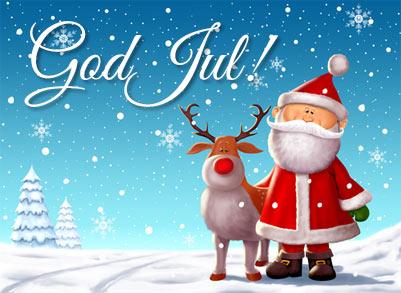 Julkort - God Jul